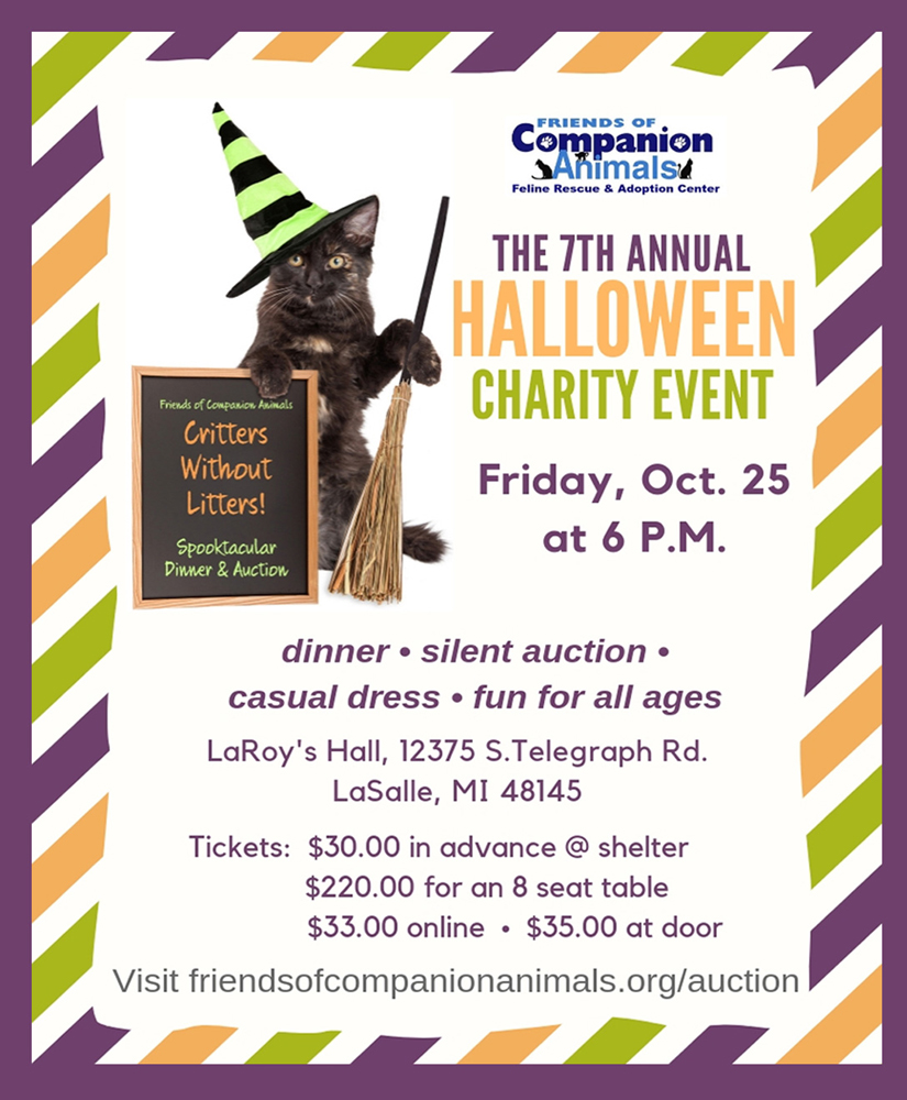 Halloween Charity Event in Monroe