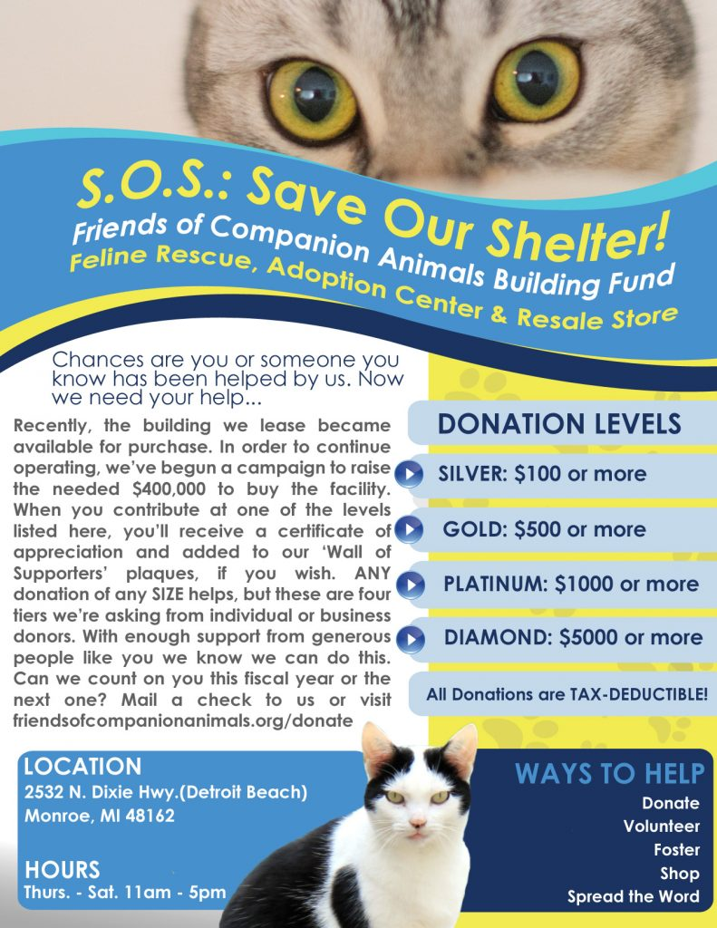 Friends of Companion Animals Building Fund